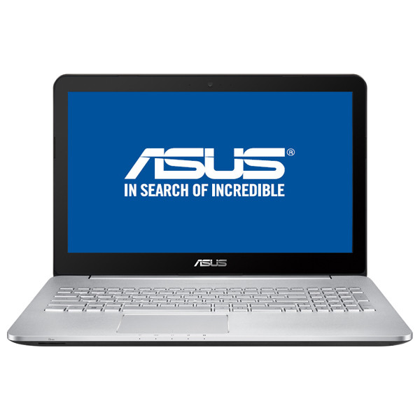"Laptop ASUS N552VX-FY026D, Intel® Core™ i7-6700HQ pana la 3.5GHz, 15.6"", 16GB, SSD 256GB, nVIDIA GeForce GTX 950M 4GB, Free Dos"