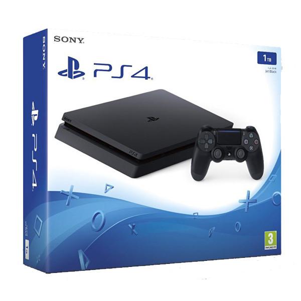 Consola Sony Playstation 4 SLIM, 1TB, negru