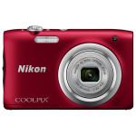 Camera foto digitala NIKON Coolpix A100, 20.1Mp, 5x, 2.7 inch,  Red