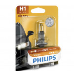 Bec auto PHILIPS H1 Vision+30%, 55W, blister 1 bucata