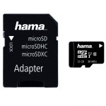 Card de memorie + adaptor HAMA 124151 microSDHC 32 GB