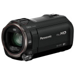 Camera video Full HD PANASONIC HC-V770, 20x, 3 inch, HDMI, Wi-Fi, negru
