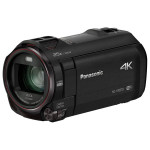 Camera video 4K PANASONIC HC-VX870, 20x, 3 inch, HDMI, Wi-Fi, negru