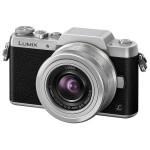 Camera foto mirrorless PANASONIC DMC-GF7, 16Mp, 3 inch + obiectiv 12-32mm, silver