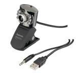 Camera Web HAMA Metal Pro 62828, 640 x 480 pixeli, argintiu