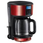 Cafetiera RUSSELL HOBBS 20682-56, 1.25l, 10 cesti, 1000W, negru-rosu