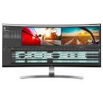 """Monitor LED IPS LG 34UC98-W, 34"""" Curved, UltraWide QHD, negru-alb"""
