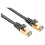 Cablu de retea STP Cat5e HAMA 41897, 7.5m, gri