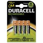 Acumulatori AA DURACELL ACCAA1300B4, 4 bucati