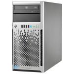 Server HP ProLiant ML310e Gen8 v2, Intel Xeon E3-1220 v3 pana la 3.5GHz, 4GB, 1TB, 350W, Tower 4U