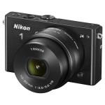 Camera foto mirrorless NIKON 1 J4, 18.4 Mp, 3 inch, negru + obiectiv 10-30mm