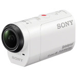 Camera video sport SONY Action Cam HDR-AZ1VR kit telecomanda + kit montare pe bicicleta