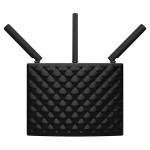 Router Wireless TENDA AC15, 600 + 1300 Mbps, Gigabit, USB 3.0, negru