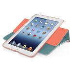 Husa de protectie cu suport rotativ MACALLY SSTANDRS-M1 pentru iPad mini, rosu