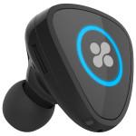Casca Bluetooth PROMATE Aria cu dock magnetic de incarcare si incarcator auto 2A, Black