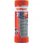 Lavete din microfibre pentru curatate exterioara SONAX SO416241, 2 buc