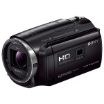 Camera video SONY HDR-PJ620B, 30x, 3 inch, HDMI, Wi-Fi, NFC, negru