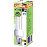 Bec fluorescent OSRAM DValue, 18W, E27, 2700K, alb cald