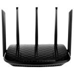 Router Wireless LB-LINK BL-WDR3750 AC750, Dual-Band 300 + 450 Mbps, WAN, LAN, USB 2.0, negru