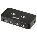 Hub USB HAMA 39859, 7 porturi, negru