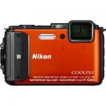 Camera foto NIKON COOLPIX Waterproof AW130 Diving Kit, orange