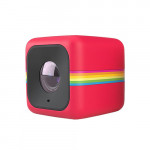 Camera video de actiune Cube Full HD POLAROID, rosu