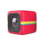 Camera video de actiune Cube Plus Full HD POLAROID, rosu