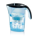 Cana filtranta LAICA Stream Mechanical, 2.3l, negru