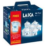 Set 6 filtre de apa Bi-Flux+ cana LAICA J996W