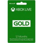 Card Xbox Live Gold 12 luni Xbox 360 / Xbox One