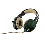 Casti gaming TRUST GXT 322C, Green Camouflage