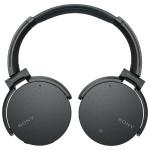 Casti on-ear Bluetooth SONY MDR-XB950N1B, NFC, Wireless, Negru