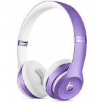 Casti on-ear cu microfon Bluetooth BEATS Solo3 Wireless, Ultra Violet