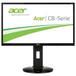"Monitor LED IPS ACER CB240HYKbmjdpr, 23.8"", UHD 4K, negru"
