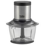 Mini tocator BEKO CHG7402X, vas sticla, 1l, 2 trepte de viteza, 400W
