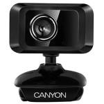 Camera Web CANYON CNE-CWC1, 1600 x 1200 pixeli, negru