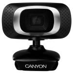 Camera Web CANYON CNE-CWC3, 1920 x 1080 pixeli, negru