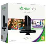 Consola MICROSOFT Xbox 360 4GB + Kinect Sensor + 2 jocuri ( Kinect Adventures, Kinect Sport Ultimate Colection) + 1 luna Xbox Live Gold