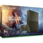 Consola MICROSOFT Xbox One Slim 1 TB, olive green + Joc Battlefield 1 (cod download ) + 1 month EA Access