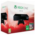 Consola MICROSOFT Xbox ONE 500GB + Joc FIFA 16 (cod download) + 3 luni Xbox Live Gold
