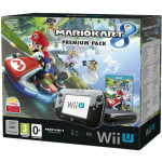 Consola Nintendo Wii U Premium, 32 GB, negru + jocul Mario Kart 8 (preinstalat)