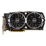 Placa video MSI NVIDIA GeForce GTX 1060 ARMOR 3G OCV1, 3GB GDDR5, 192bit, GTX 1060 ARMOR 3G OCV1