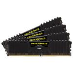 Memorie desktop CORSAIR Vengeance LPX Black 16GB (4x4GB) DDR4, 2800Mhz, CL16, CMK16GX4M4A2800C16