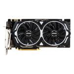 Placa video MSI NVIDIA GeForce GTX 1070 Armor OC, 8GB GDDR5, 256bit, GTX 1070 ARMOR 8G OC