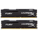 Memorie desktop KINGSTON HyperX Fury Black 2x8GB DDR4, 2666MHz, HX426C15FBK2/16