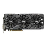 Placa video ASUS NVIDIA GeForce GTX 1080, 8GB GDDR5X, 256bit, STRIX-GTX1080-8G-GAMING