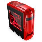 Carcasa SEGOTEP Warship EVA Red, 2 x USB 2.0, 1 x USB 3.0, WSHIPEVA-RD