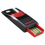 Memorie portabila SANDISK Cruzer Edge, 32GB, negru- rosu