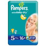 Scutece PAMPERS Active Baby 5 Junior, 16 buc, 11-18 kg