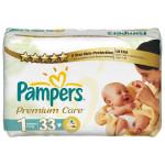 Scutece PAMPERS Premium Care 1 Newborn, 33 buc, 2-5 kg